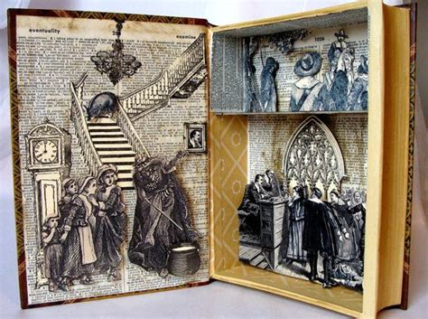 Witchcraft Altered Shadowbox Book Salem by