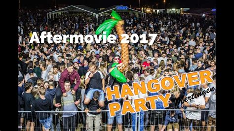 Hangover Party Mertingen 2017 (Aftermovie) - YouTube