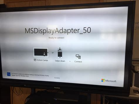Microsoft Wireless Display Adapter won't connect to the