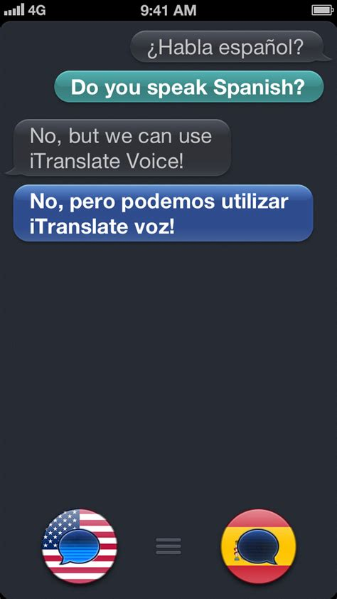 iTranslate Voice traduce textele in timp real, include
