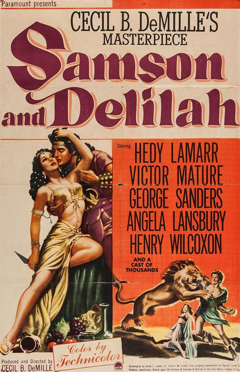 Watch Samson and Delilah (1949) Free Online