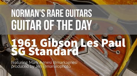 Guitar of the Day: 1961 Gibson Les Paul SG Standard