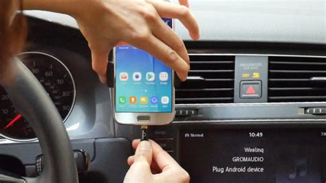 Connect Android phone to Car Stereo for Music Stream and