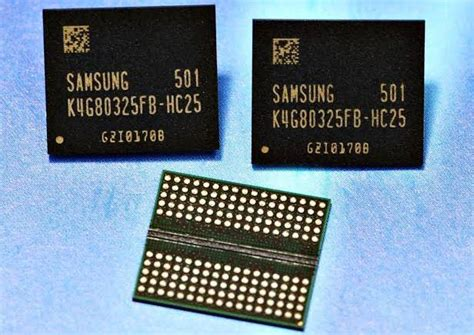 Samsung starts making 8Gb GDDR5 memory chips - The Tech Report