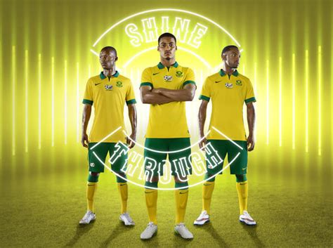 South Africa and Nike Unveil National Football Team Kits