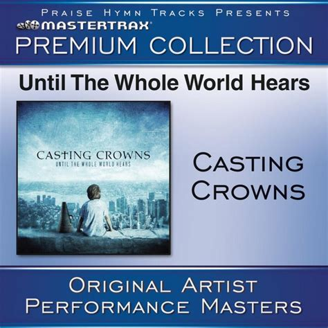 Casting Crowns - At Your Feet - Original key with