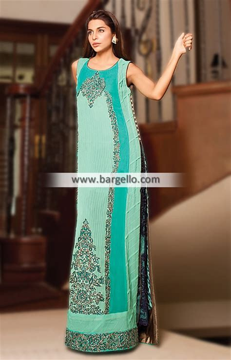 Pakistani Party Wear Dresses Maxi Style Long Formal Party
