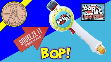"""Bop It! Maker - Create 10 Different Moves """"Ping Pong"""" """"Fly"""