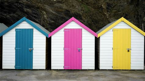 Free Images : sea, building, barn, shed, summer, colourful