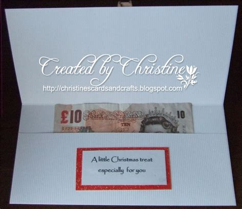 Christine's Cards and Crafts: Christmas Money Wallet