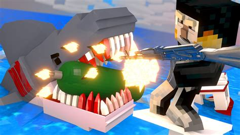 Jaws Movie - The Final Shark Attack! (Minecraft Roleplay