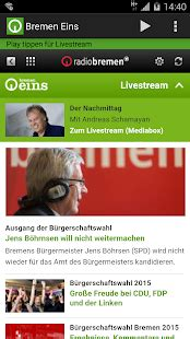 Bremen Eins - Android Apps on Google Play