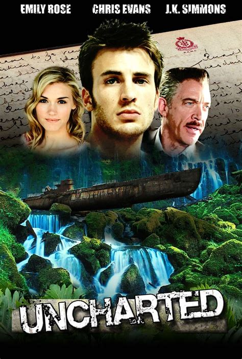 Uncharted Movie poster   A movie poster I created based on