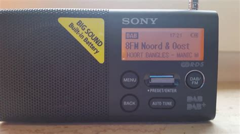 A short demonstration of the Sony XDR-P1DBP (Portable FM