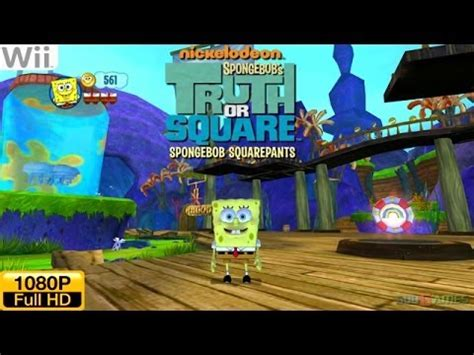 SpongeBob's Truth or Square - Wii Gameplay 1080p (Dolphin